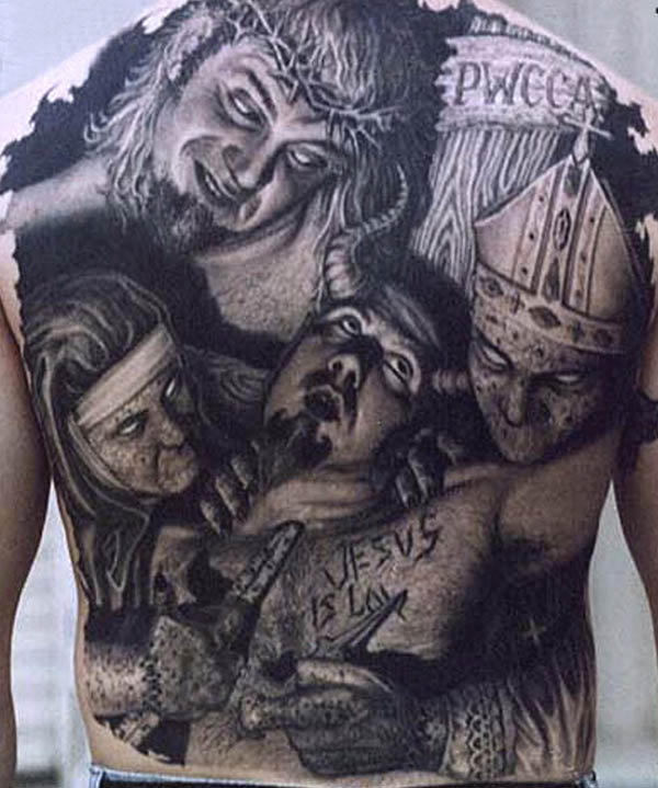 Kerry King Tattoo Hledat Googlem: JUXTAPOZ
